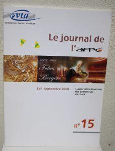 Le journal de l'AFPC / Septembre 2008