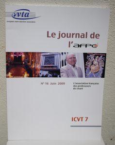 Le journal de l'AFPC n°16 Juin 2009