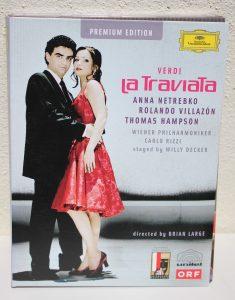 DVD La Traviata - Verdi