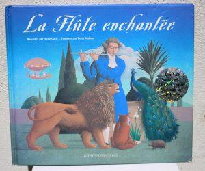 """Livre """"La flûte enchantée"""""""