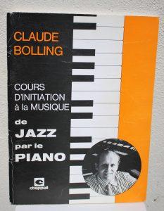 Cours d'initiation à la musique de Jazz par le piano - Claude Bolling