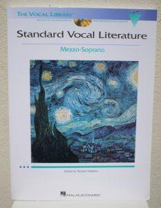 Standard Vocal Literature pour Mezzo - Soprano