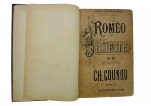 Partition Roméo et Juliette de Gounod