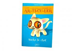 Livre Articuler : Sacha le chat