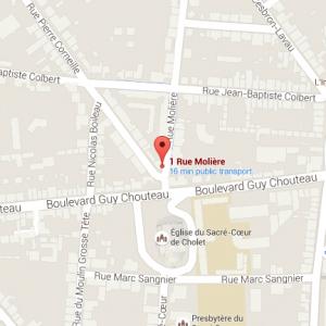 Google map - EVOÉ